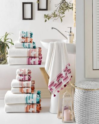 Butterfly Turkish Cotton Towel