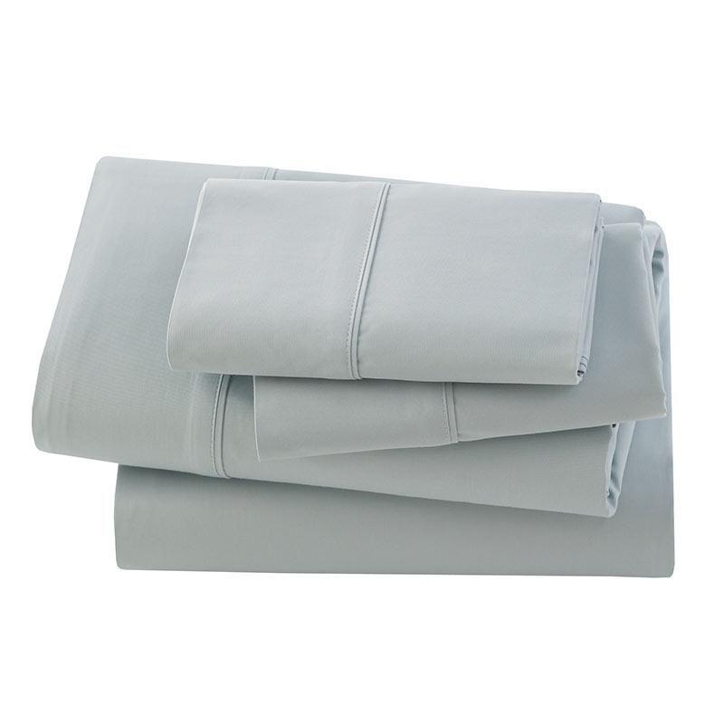 Bamboo Sateen Sheet Set-Silver Sage-Twin