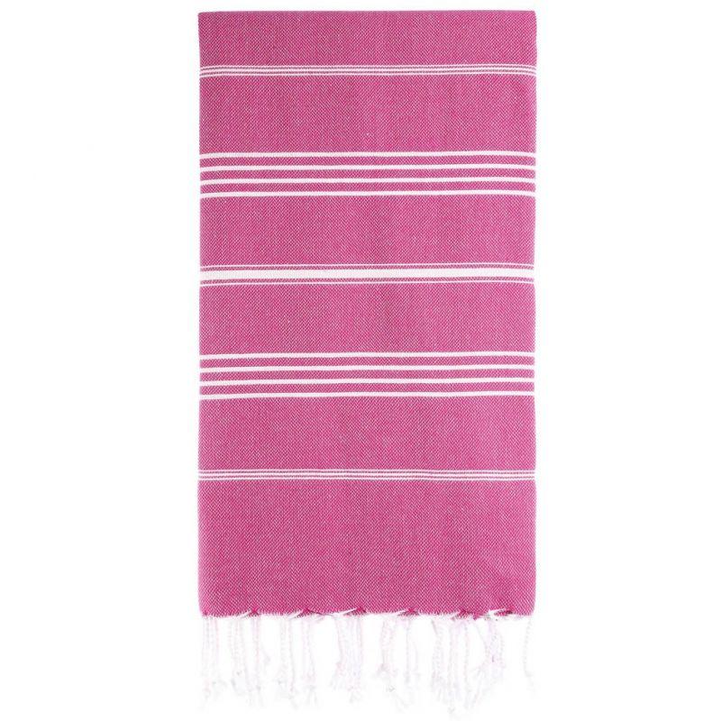 Lina Peshtemal Beach Towel-Fuchsia