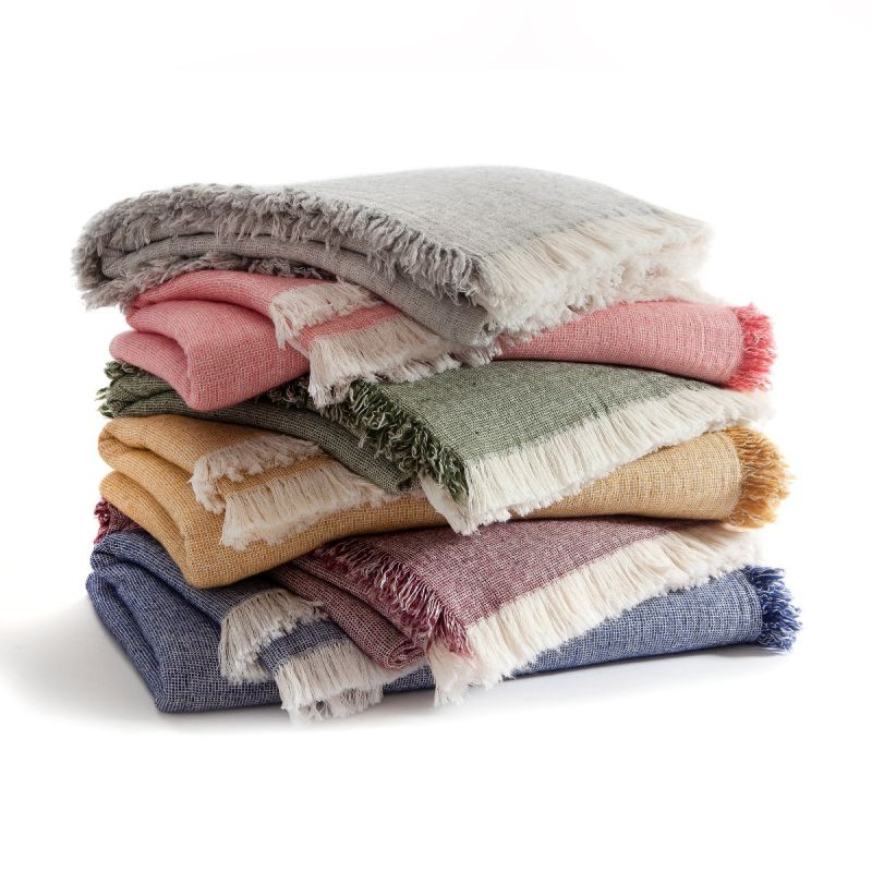 Brentwood Cotton-Wool Throw