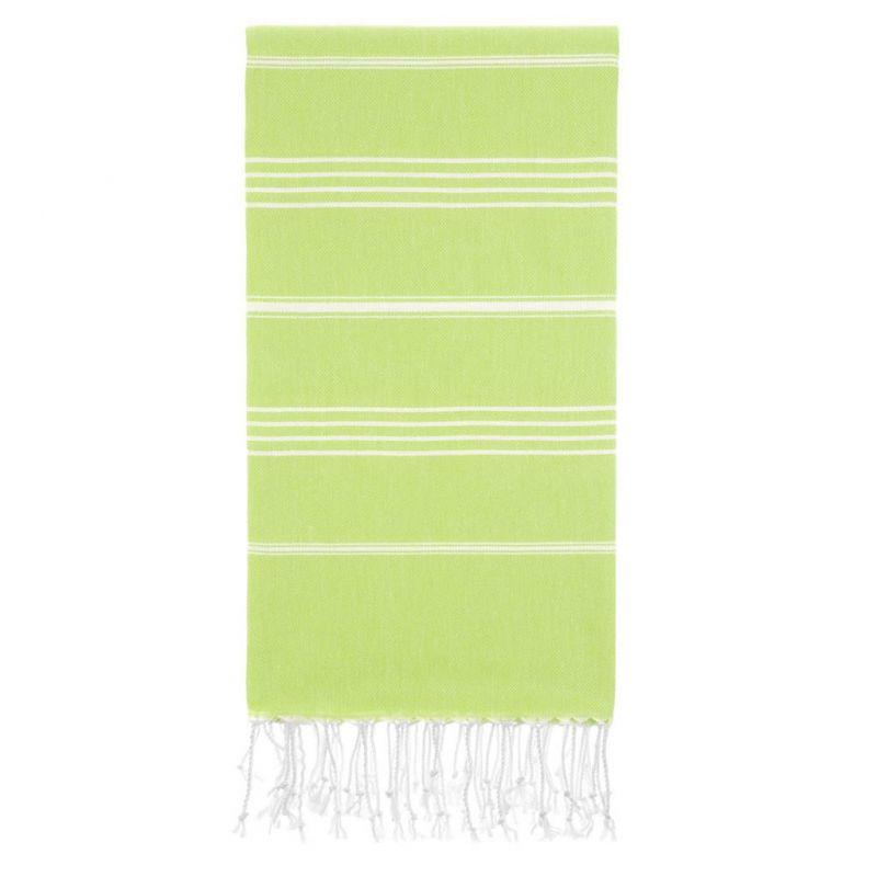 Lina Peshtemal Beach Towel-Green