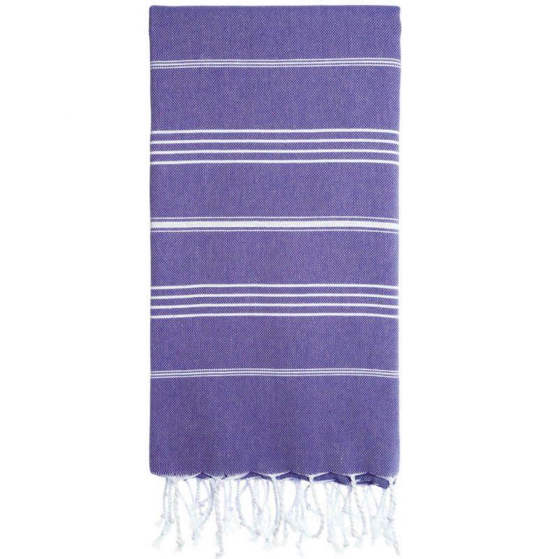 Lina Peshtemal Beach Towel-Purple